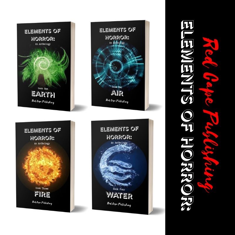 Red Cape Publishing release the Elements of Horror series on Audible and iTunes