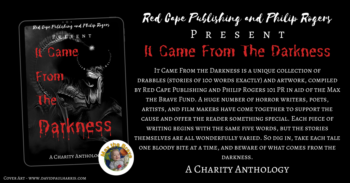 Red Cape Publishing and Philip Rogers 101 PR to release new charity horror anthology 'It Came From the Darkness'