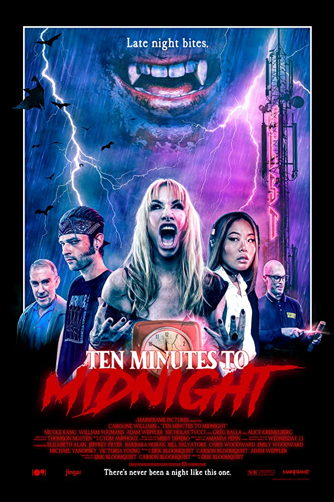 Film Review: TEN MINUTES TO MIDNIGHT (2020)