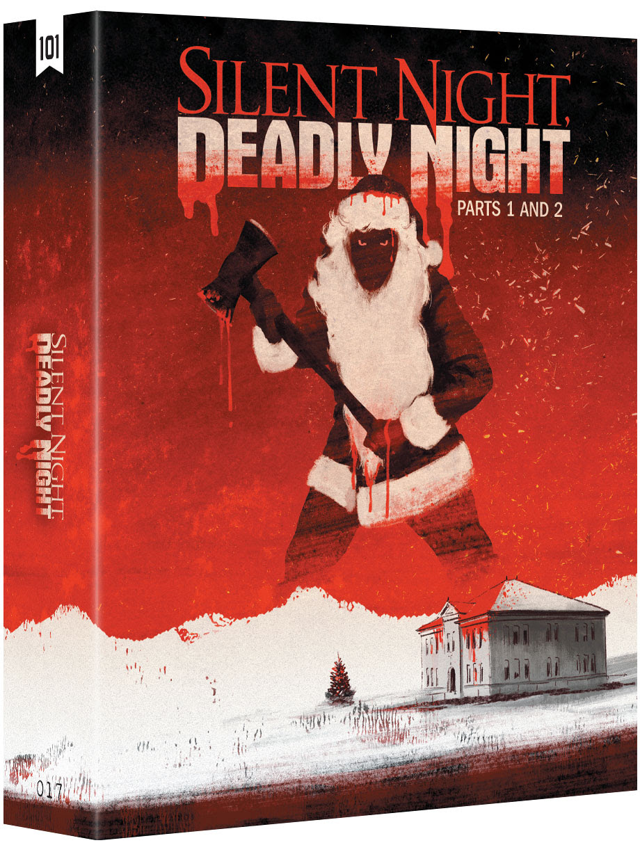 New to the 101 Films Black Label SILENT NIGHT, DEADLY NIGHT Parts 1 & 2