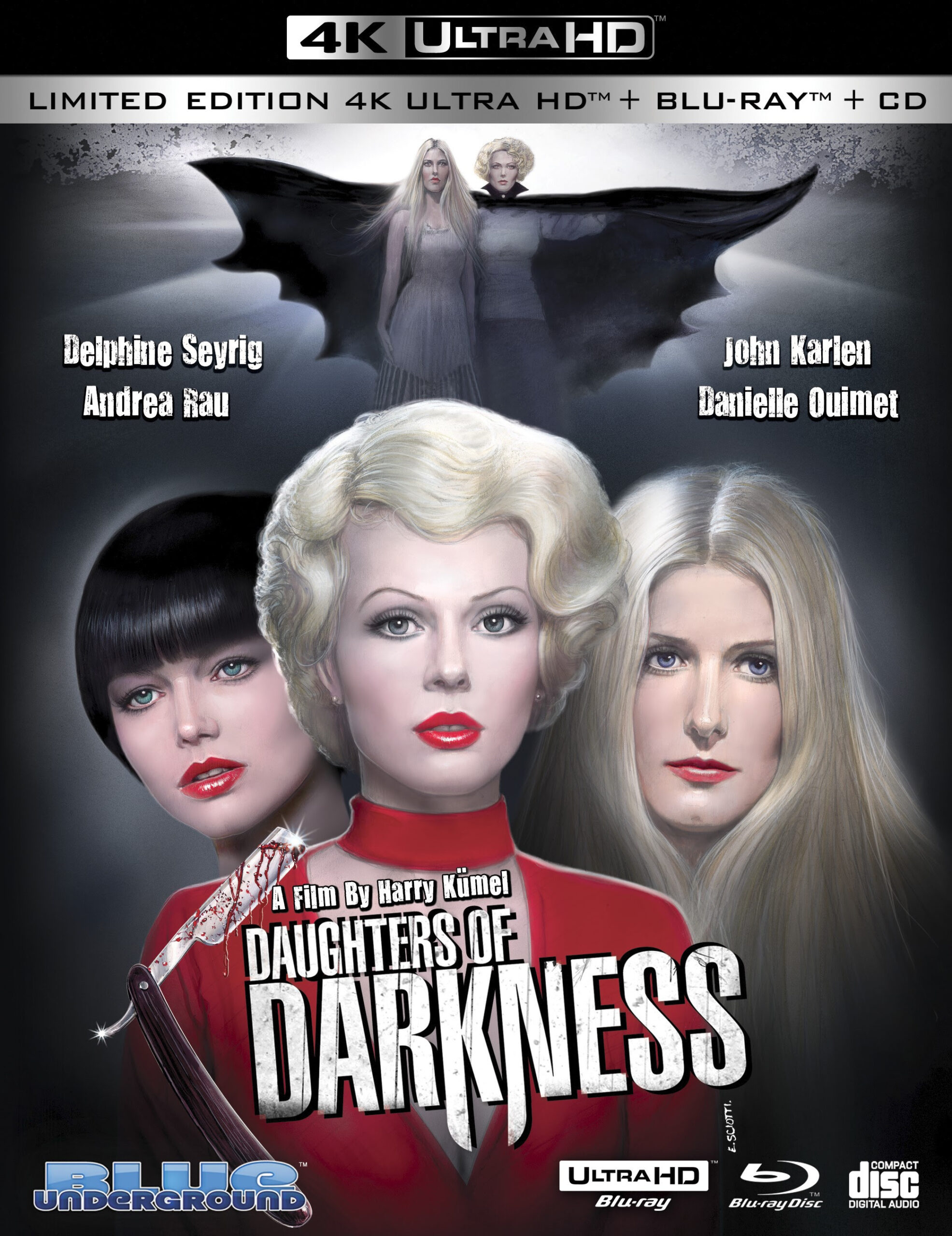 "Blue Underground releasing ""Daughters Of Darkness"" on 4K UHD on 27th October"