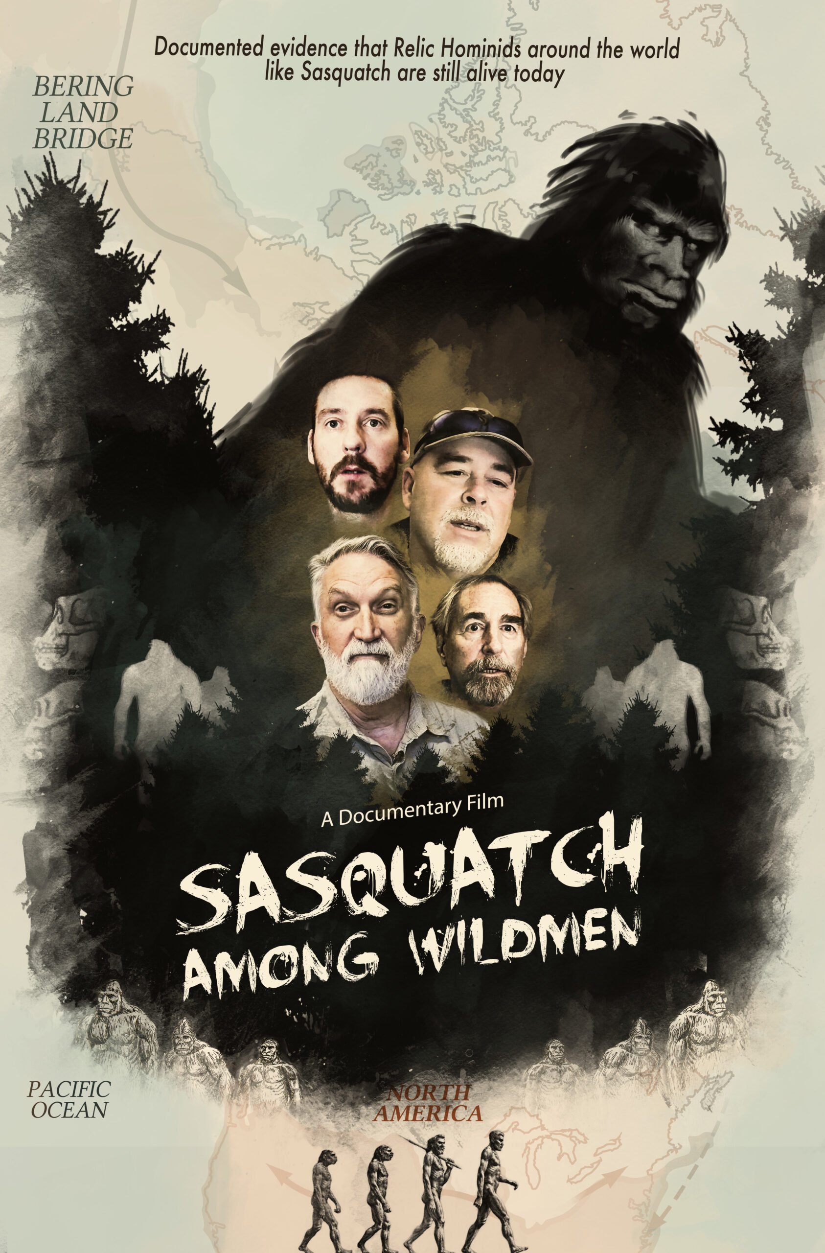 SASQUATCH AMONG WILDMEN // The truth about Bigfoot revealed!