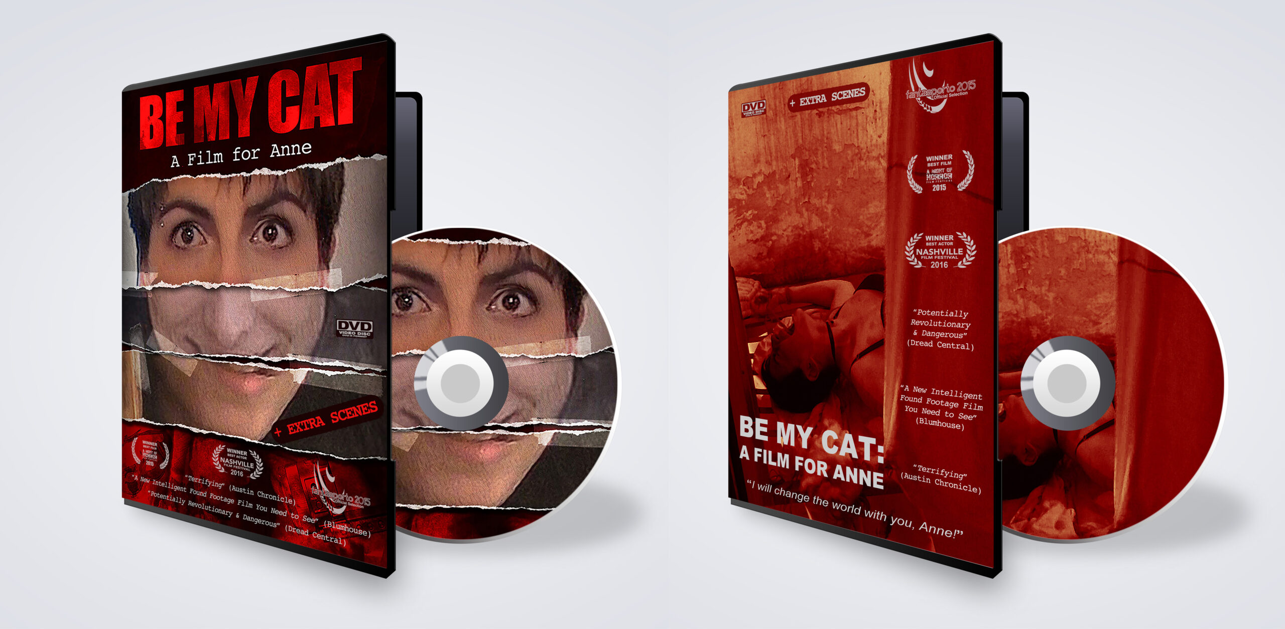 """Cult horror movie """"Be My Cat: A Film for Anne"""" released on DVD and YouTube"""