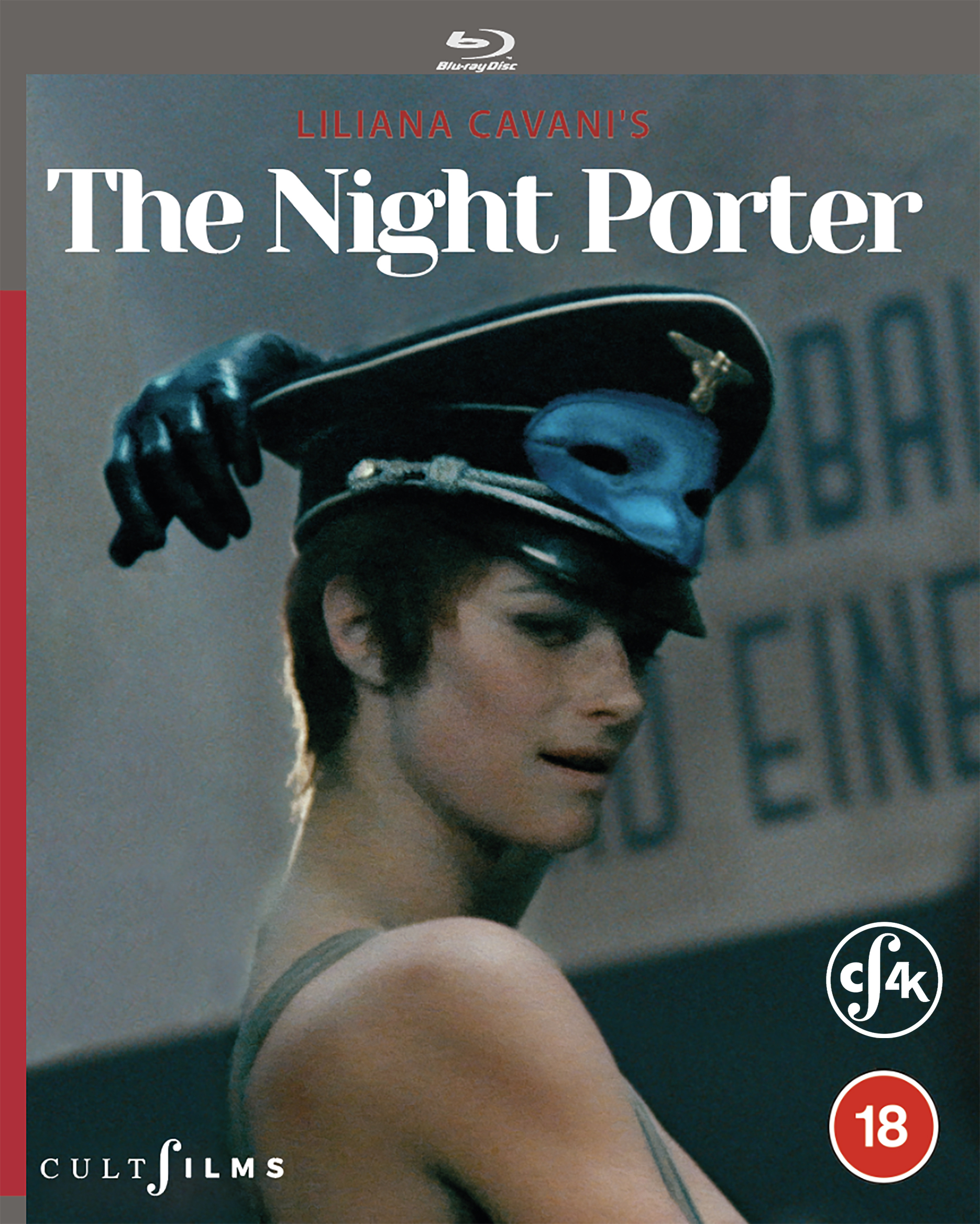 CultFilms presents Liliana Cavani's The Night Porter 4K restoration on Blu-ray and Digital 30th November