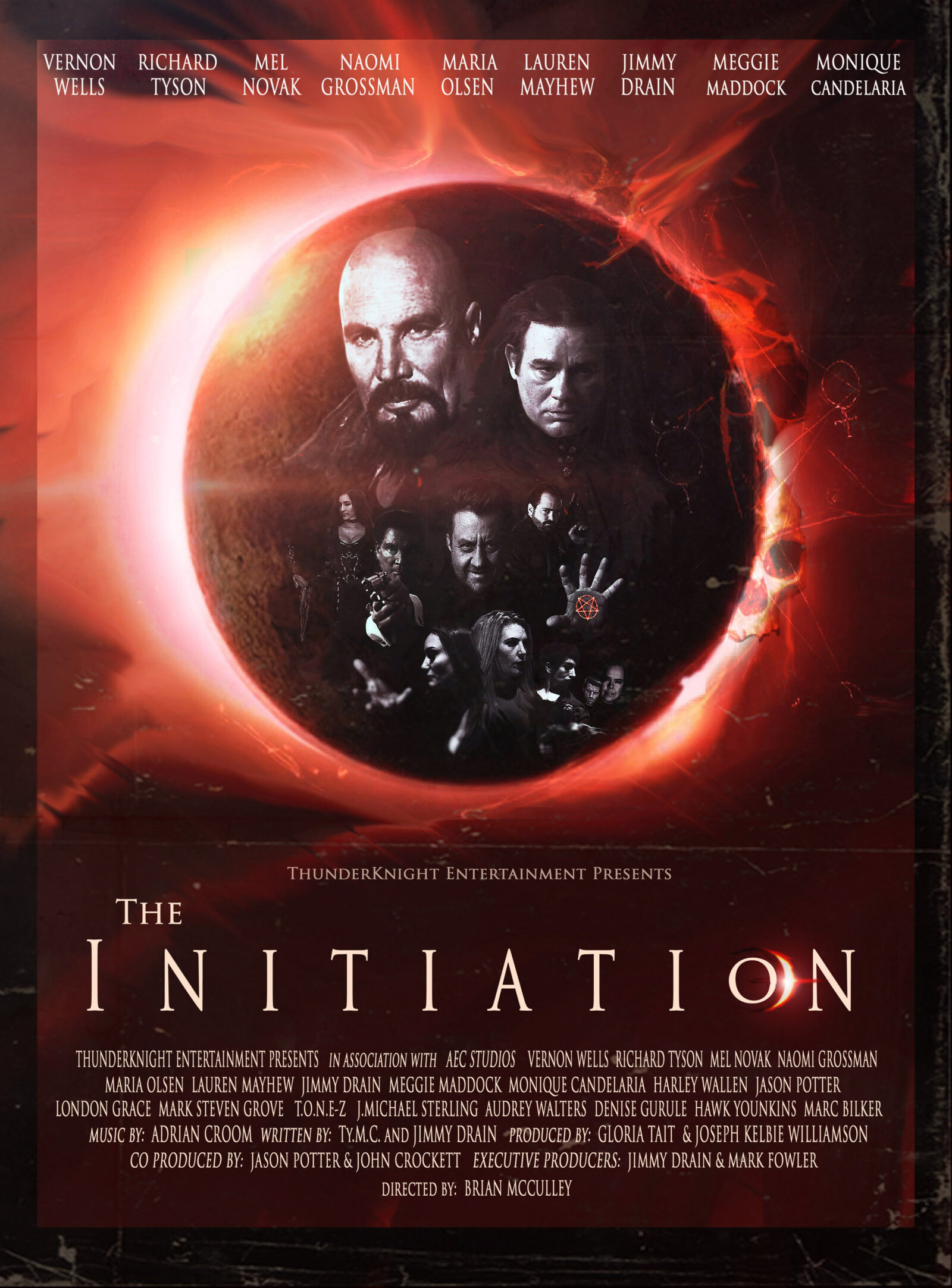 New Clip: supernatural thriller the Initiation starring Emmy nominee Naomi Grossman, Richard Tyson, Vernon Wells, and Mel Novak for the The Initiation