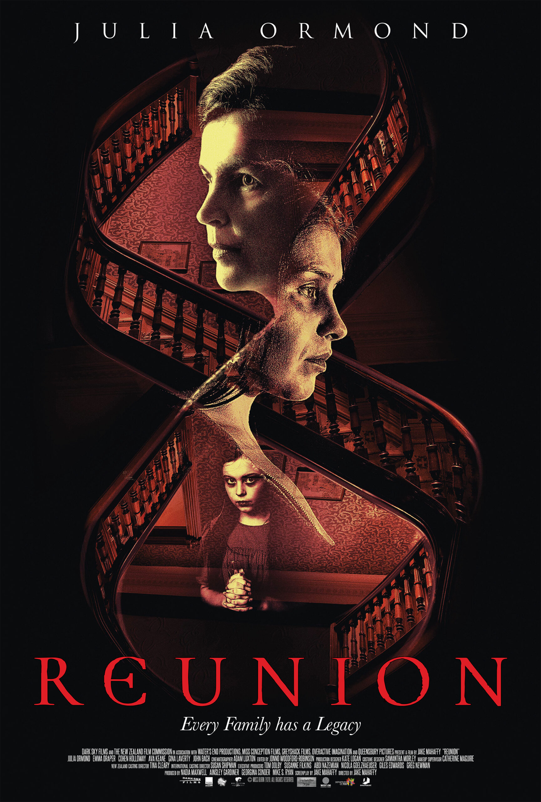 Julia Ormond Stars in REUNION: In Theaters + VOD/Digital on 5th February