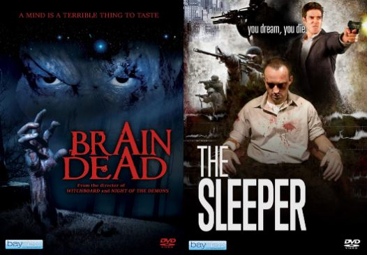 Brain Dead / The Sleeper Now Available from Bayview Entertainment