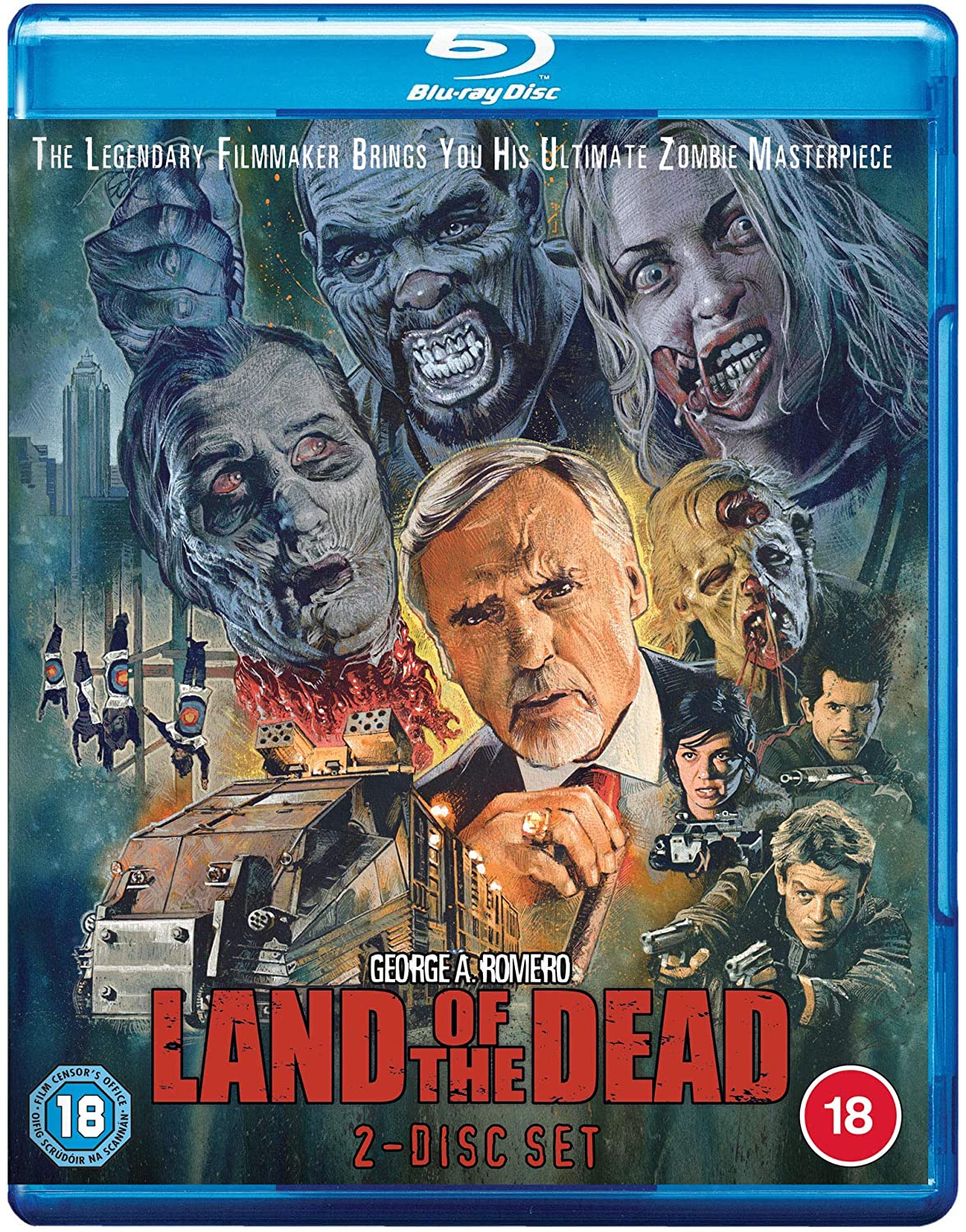 Fabulous Films releasing LAND OF THE DEAD with NEW Graham Humphreys art