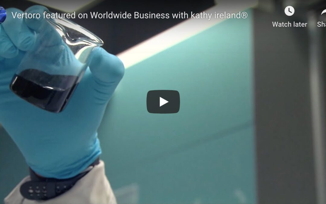 Vertoro feature story for Worldwide Business with Kathy Ireland®