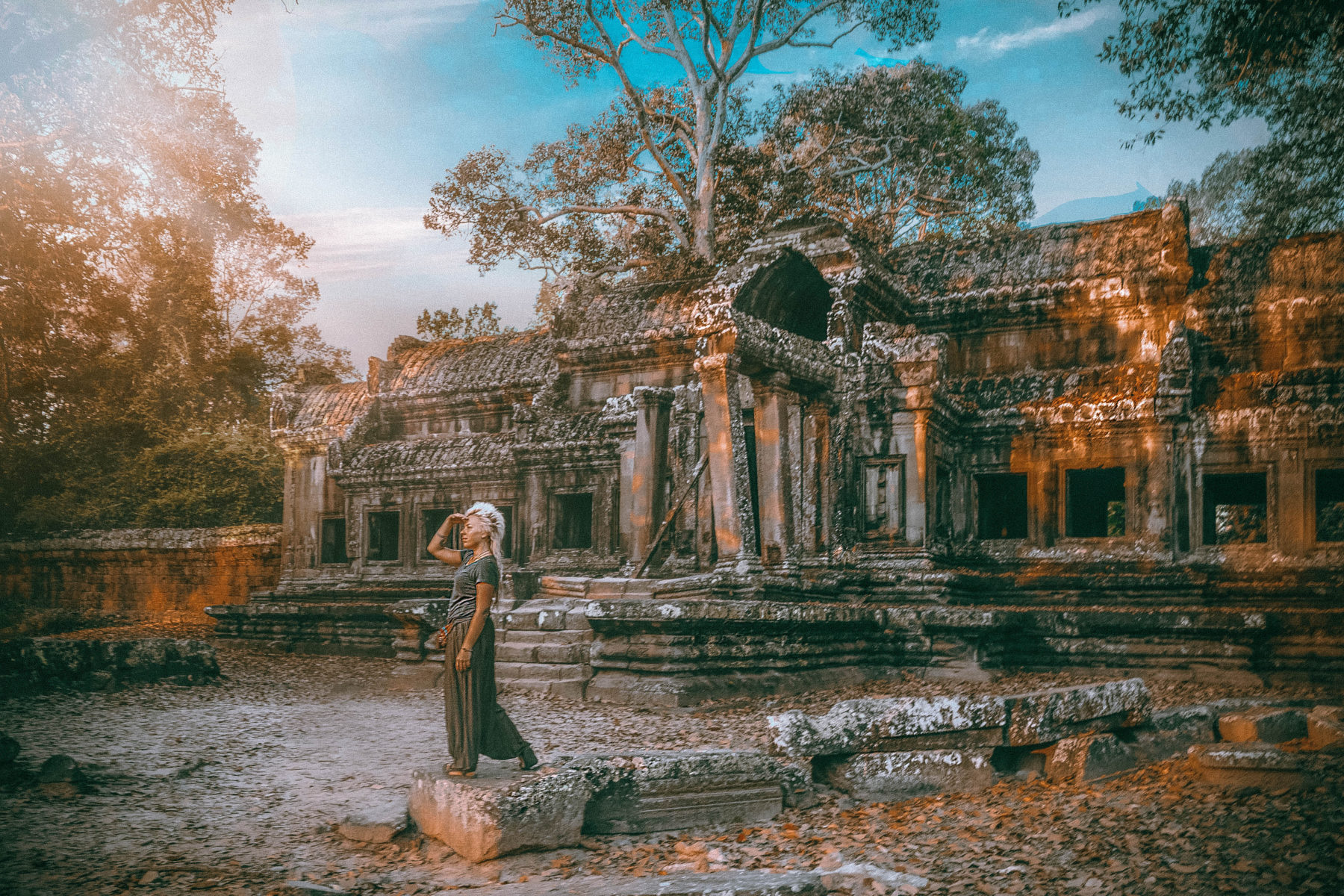 exploring iconic temples angkor wat in cambodia siem reap