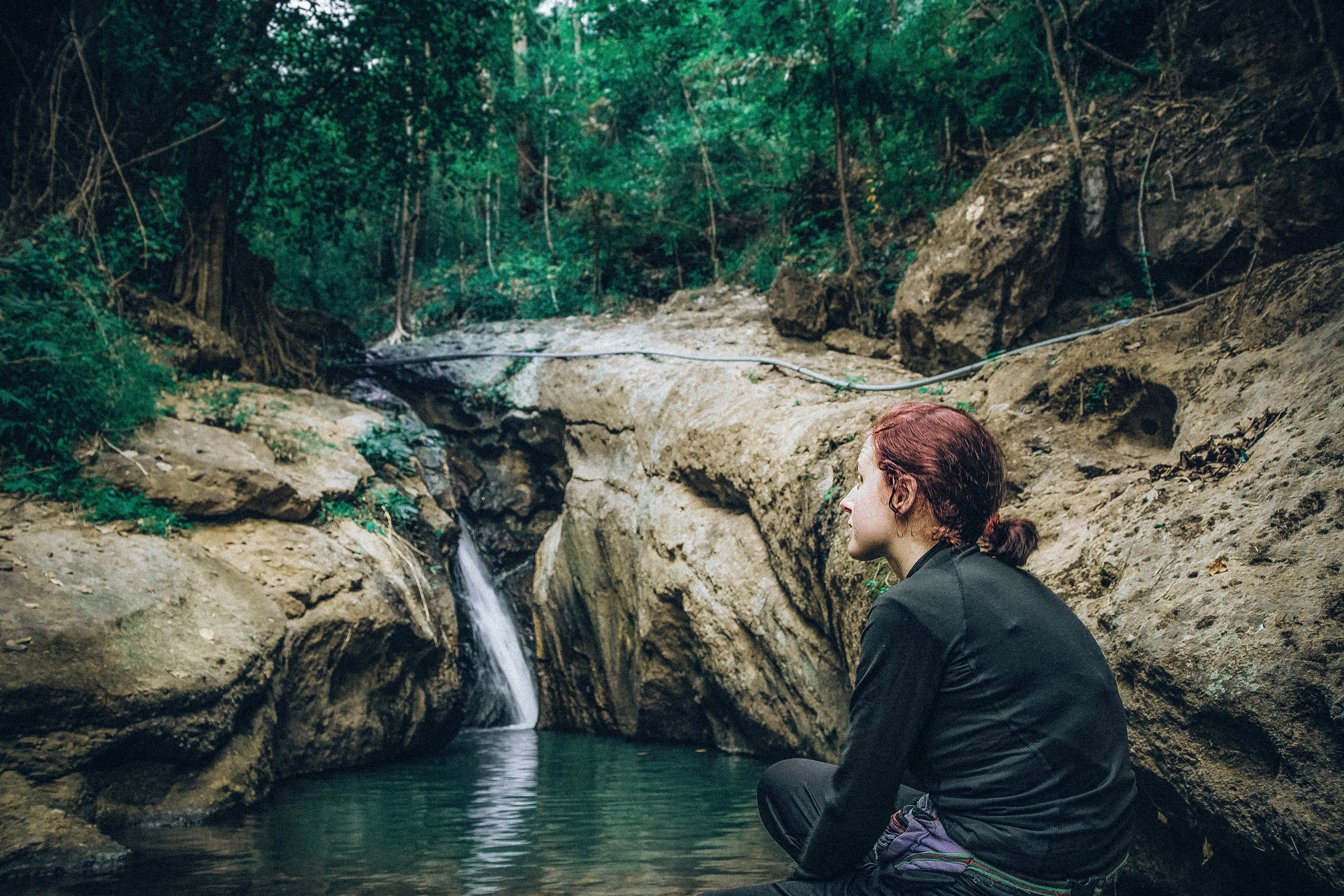 Pam Bok Waterfall pai thailand exploring the countryside