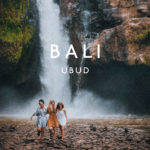 walking next to tenegungan waterfall in bali ubud island life friends came to visit