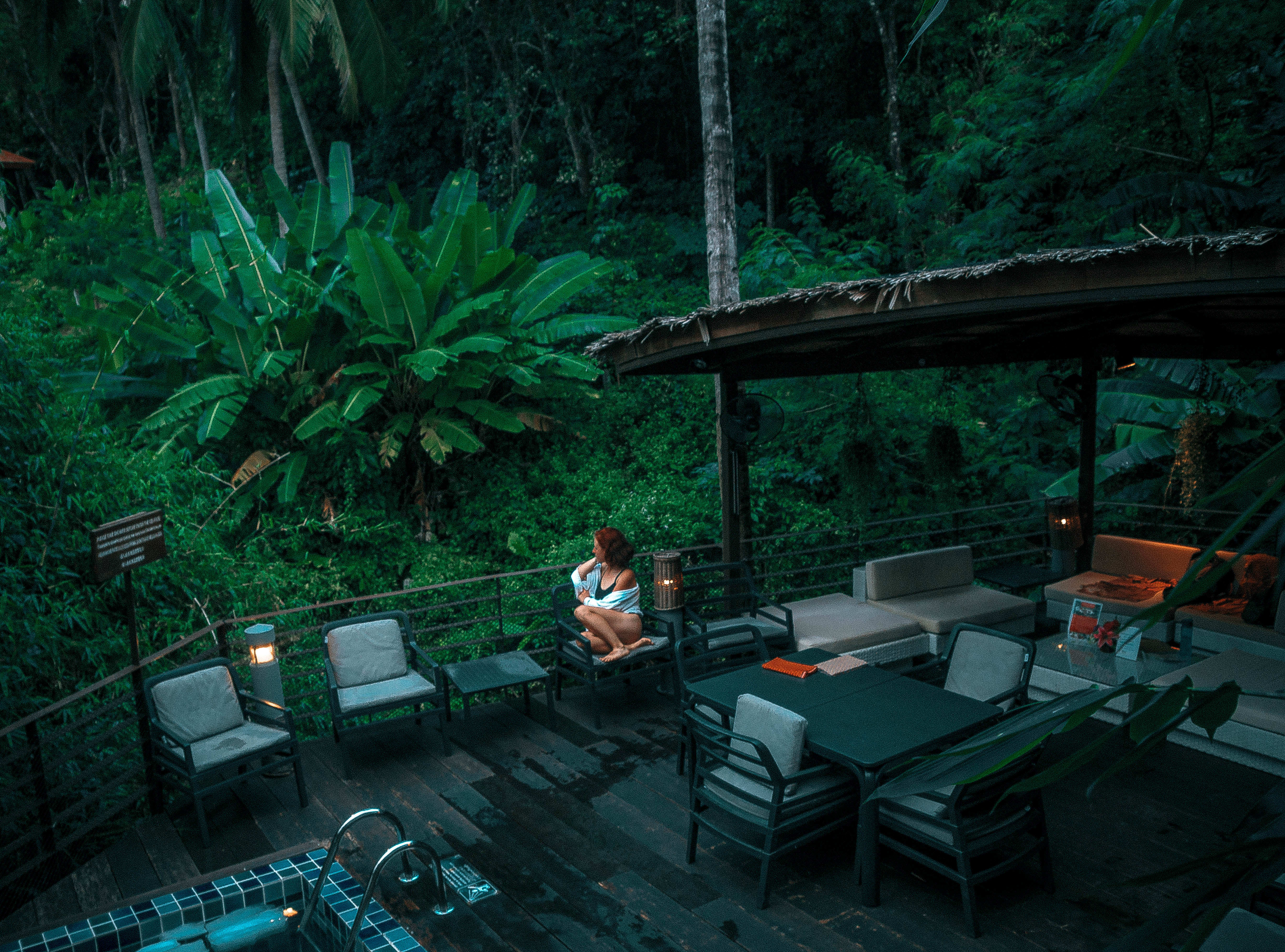 santosa welness center phuket spa day treatments pool jungle