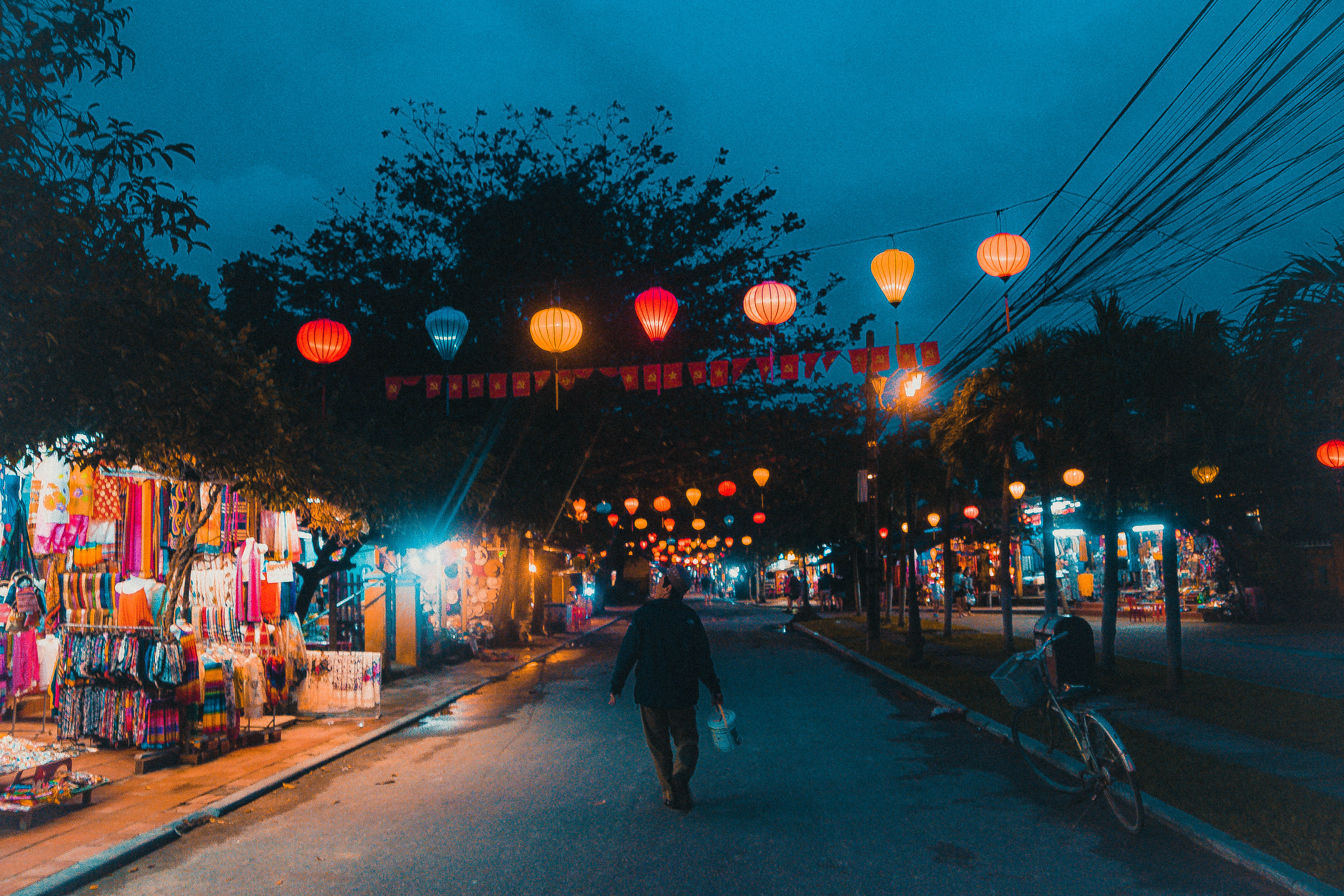 hoi an antler city evening atmospheric asia colours ancient history vietnam
