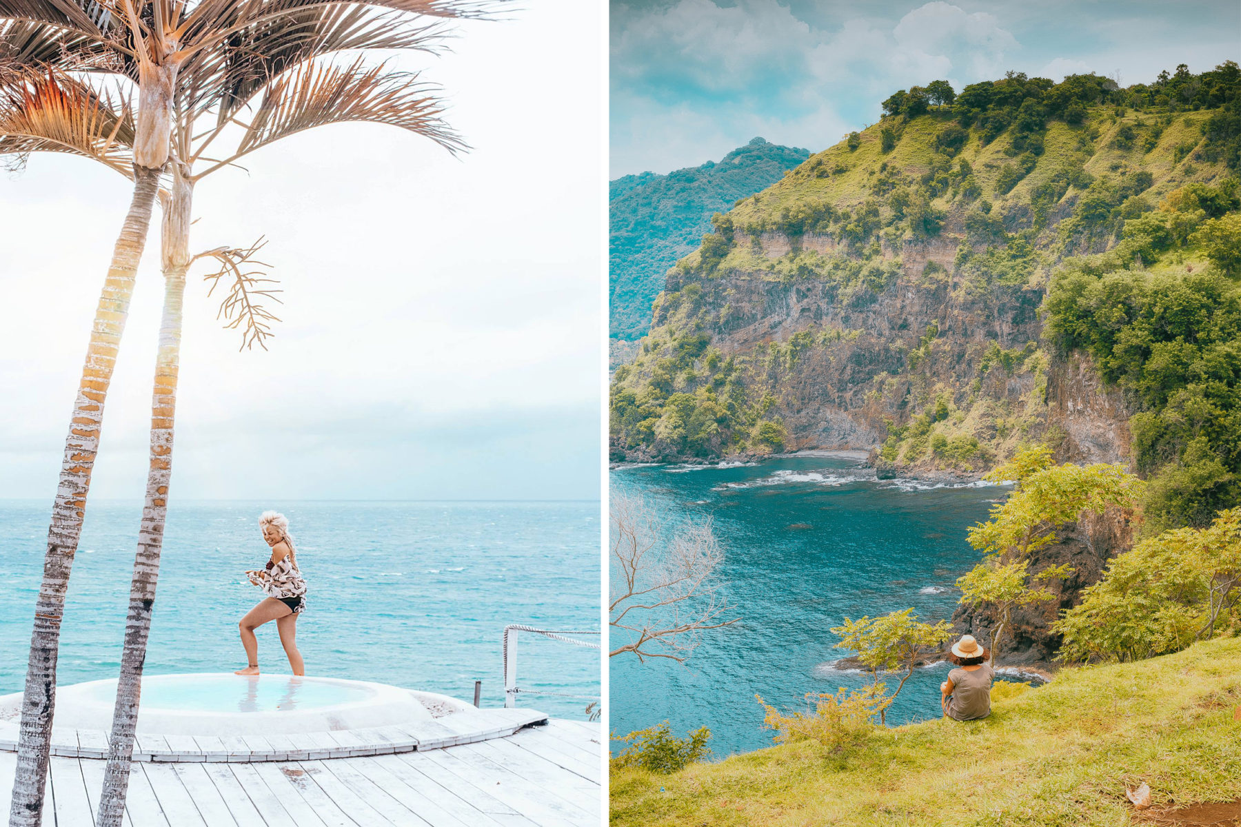 bali indonesia beach views cliffs jacuzzi spa day