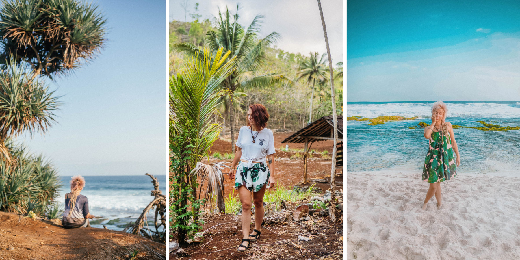 indonesia pantai drini beach getaway on scooter exploring java yogyakarta