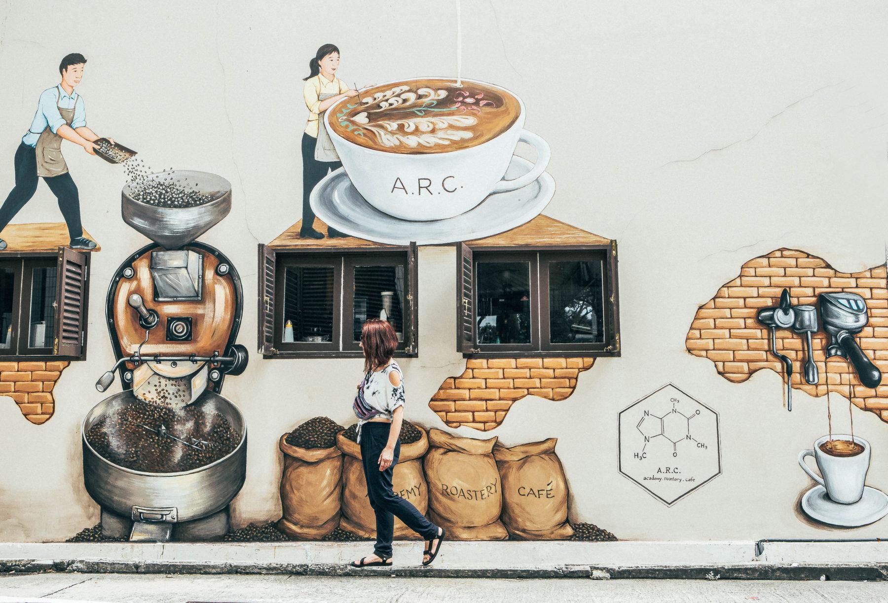 singapore coffee shops haji lane hipster caffeine exploring