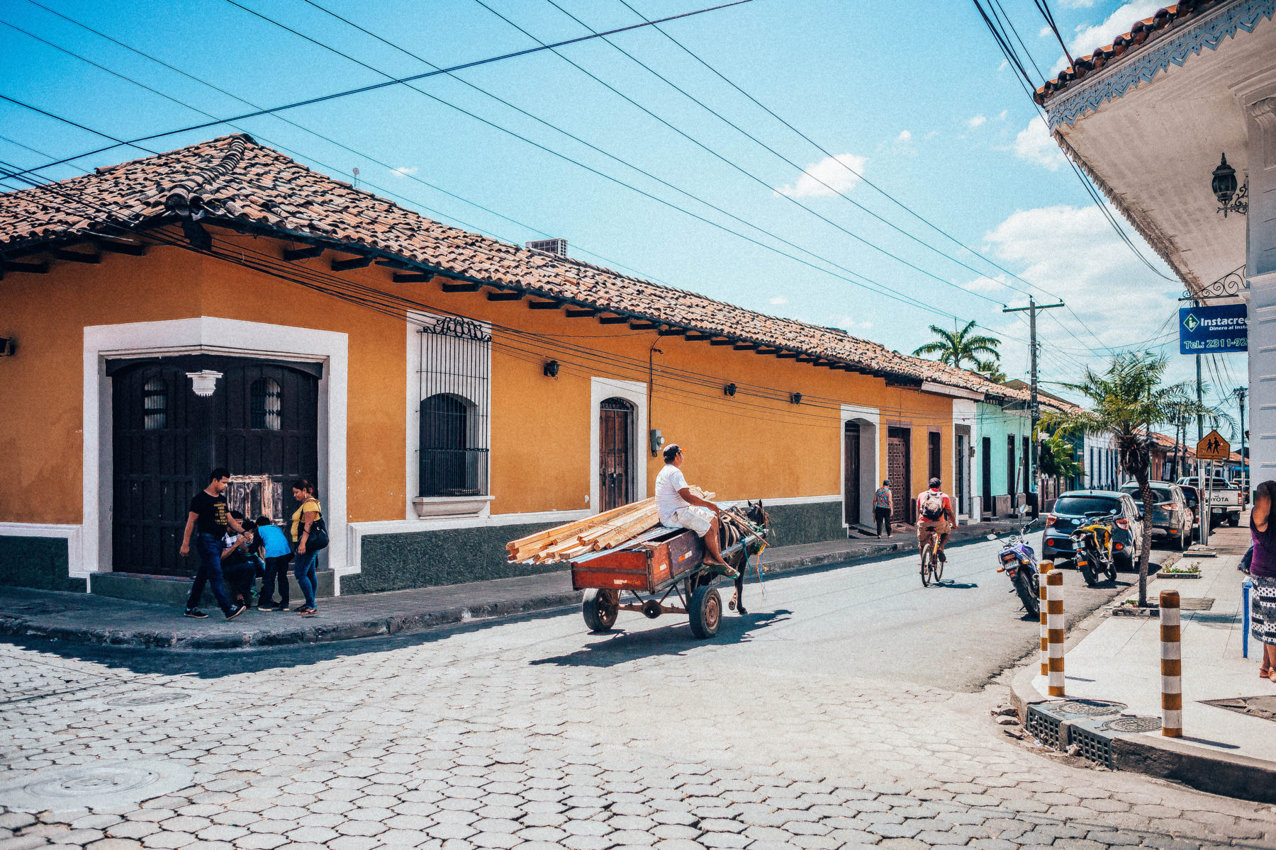 leon nicaragua old town cathedral colonial streets locals rich history colourful streets horses revolution modernity