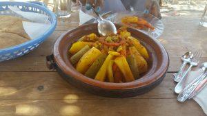 Tagine beef stew in Marrakech