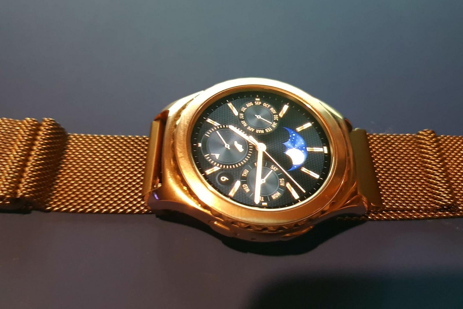 Samsung Gear S2 Classic Rose Gold watch