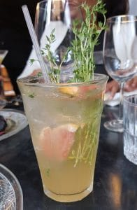 Grapefruit and Thyme Gazoz Cocktail