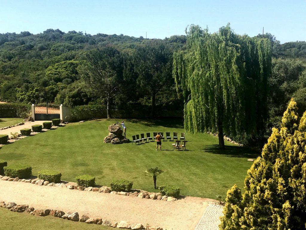 Monte Judea gardens