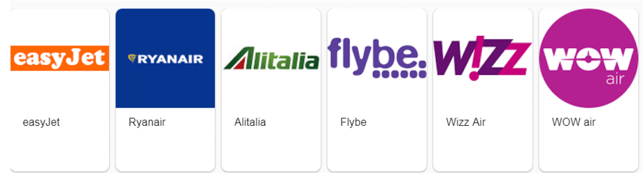 low cost airline carriers