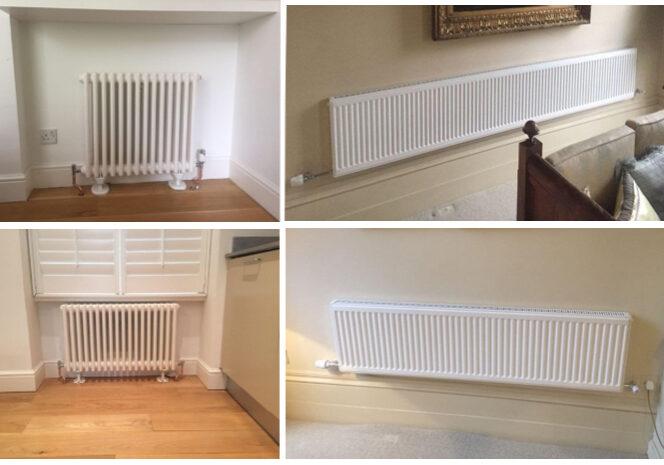 radiator insallation