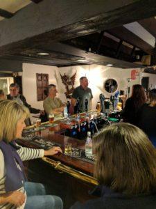 A buzzing pub