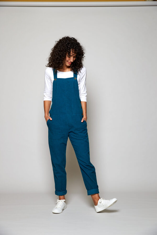 Teal dungarees