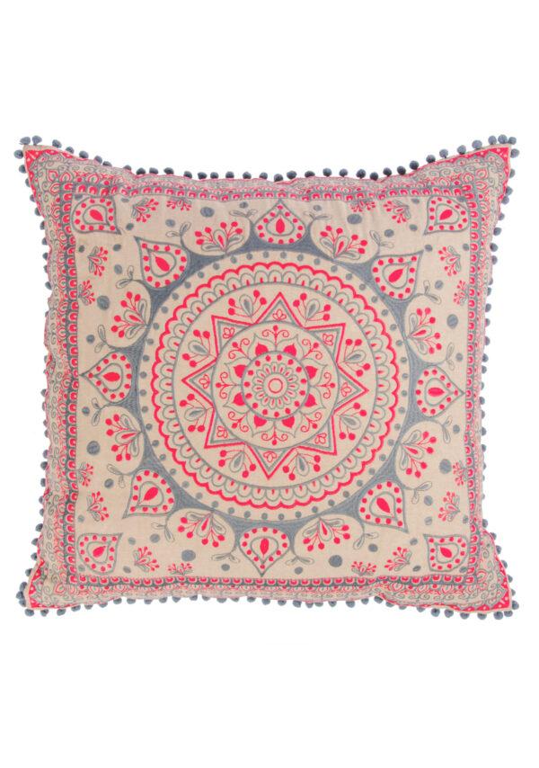 Big large mandala cushion, fairtrade, Wildwood Cornwall, Bude