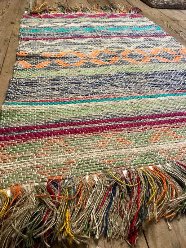 Panama Jute and cotton handloom rug, Wildwood Cornwall, Bude