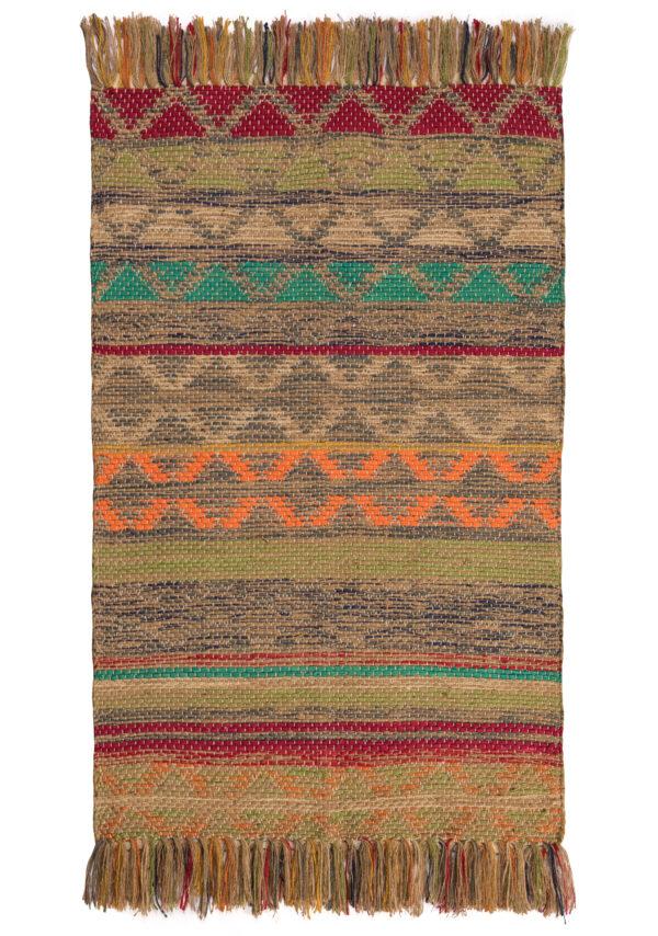 Panama Jute and cotton fairtrade rug, Wildwood Cornwall, Bude