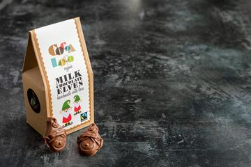 Chocolate elves, ethical christmas stocking filler