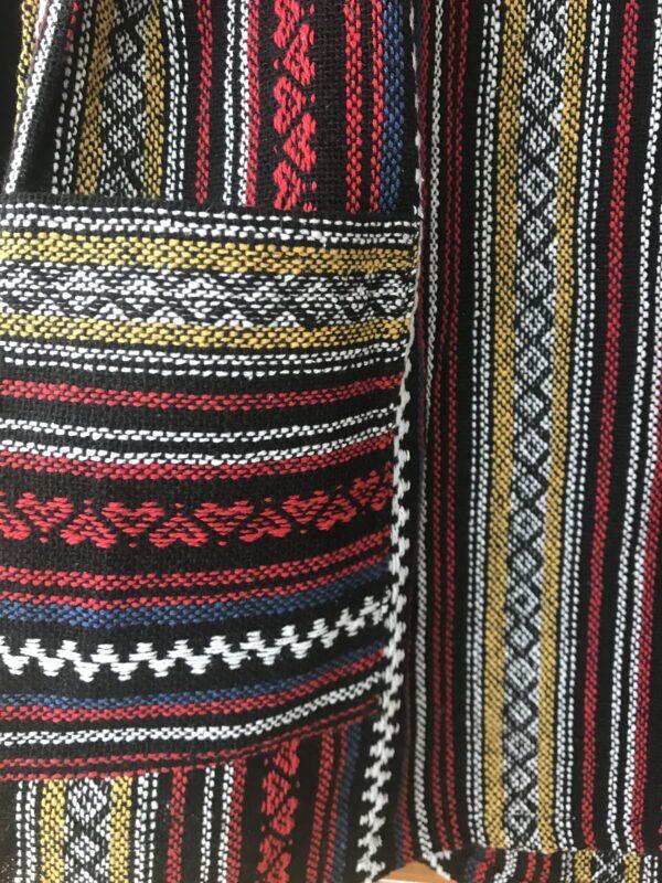 Thai weave dungaree dress ethical Wildwood Cornwall