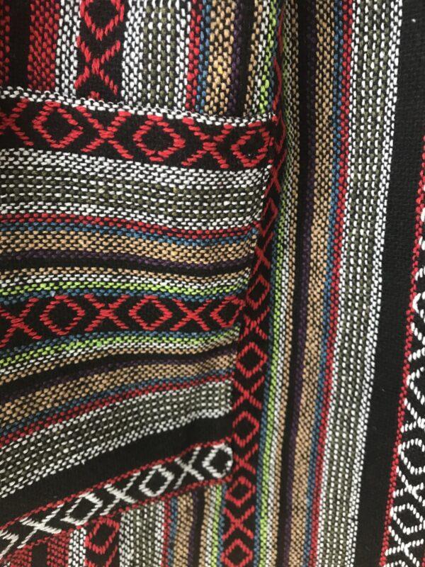 Thai weave dungaree dress ethical fair trade