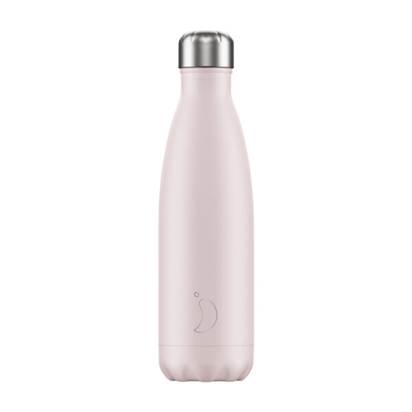 blush pink chilly's bottle wildwood Cornwall 500ml