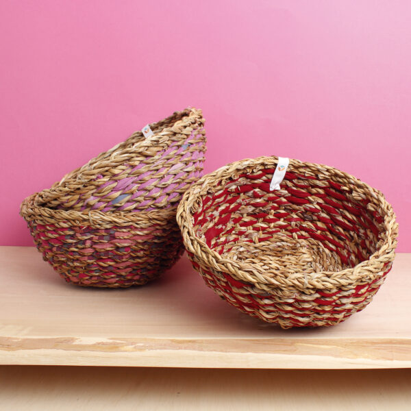 Sari and seagrass bowls respiin set Wildwood Cornwall Bude