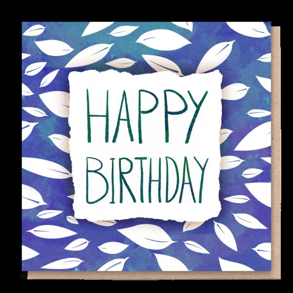 1 tree cards eco card happy birthday wildwood