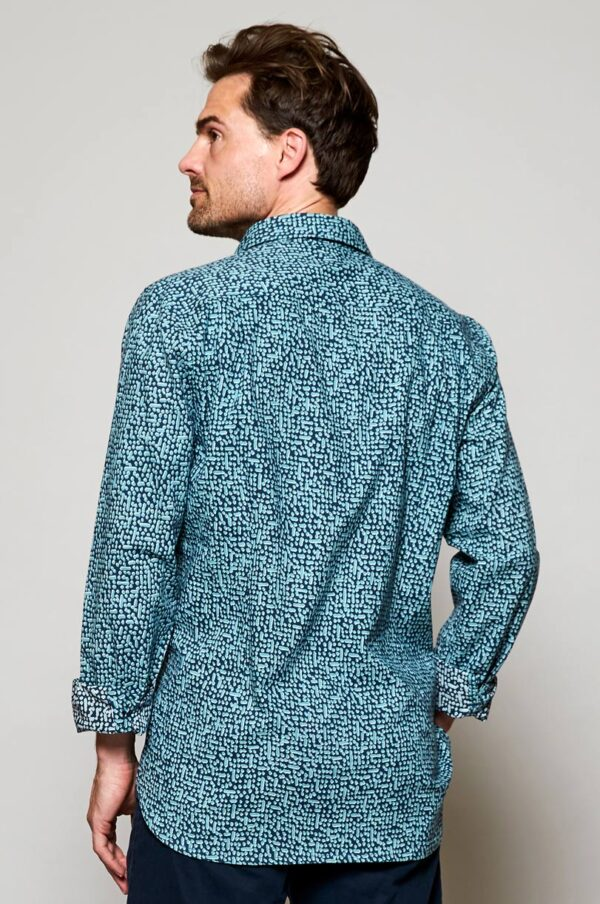 Fair trade cotton mens shirt Wildwood Cornwall