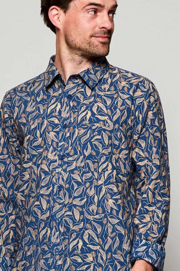 Mens fair trade storm shirt Wildwood Cornwall