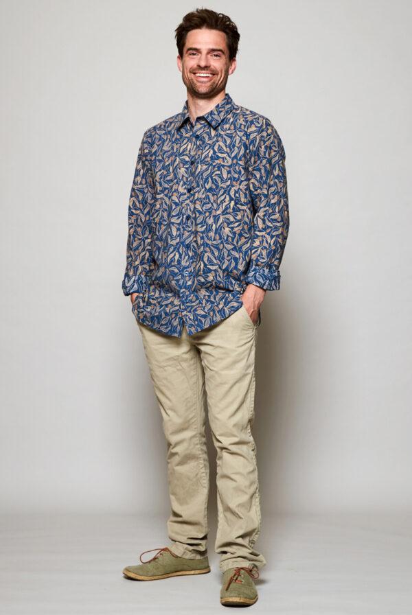 Mens fair trade sundowner nomads shirt