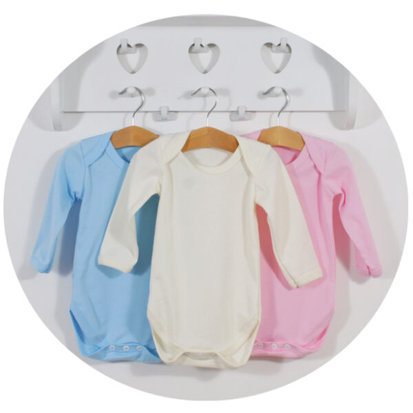Unbranded Baby Bodysuits – Long Sleeve (from £1