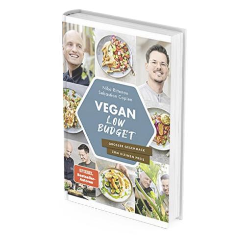 Veganer Einstieg mit: Kochbuch Vegan Low Budget*
