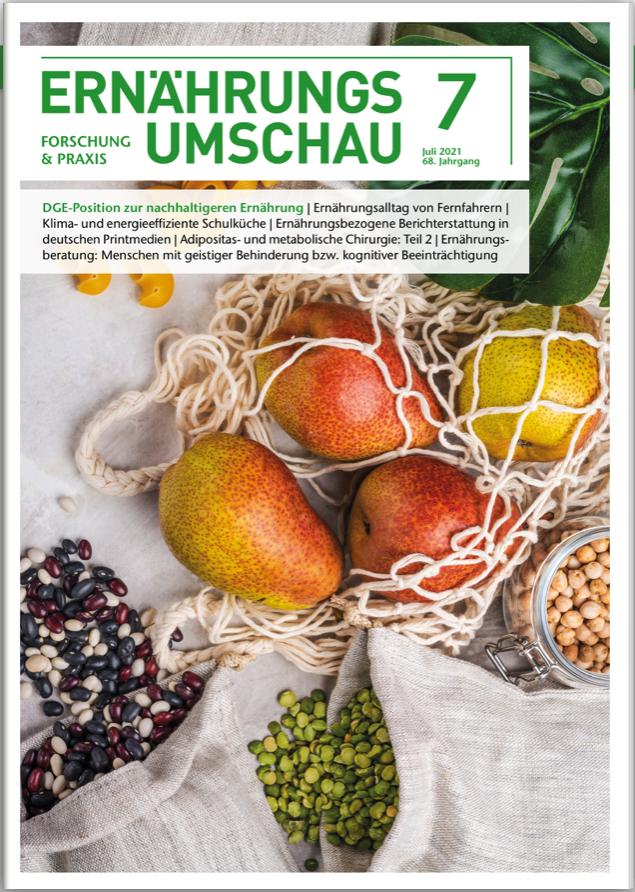 Weg zur ersten eigenen Publikation - Vegane Kinderernährung - Ernährungs-Umschau