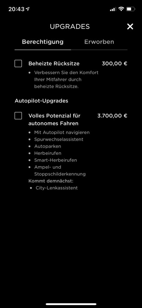 Warum Tesla? 7 Gründe einen Tesla zu kaufen - Tesla-App - Upgrades