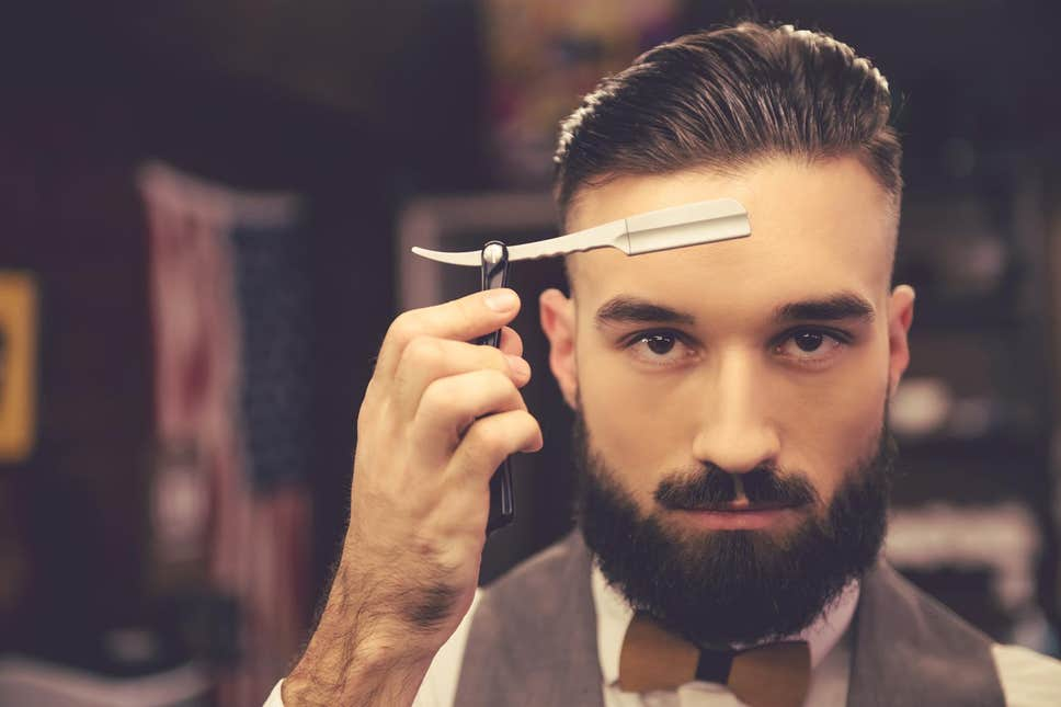 """""""Men have just recently started grooming themselves."""" Do they?!   (by Orit Lev)"""