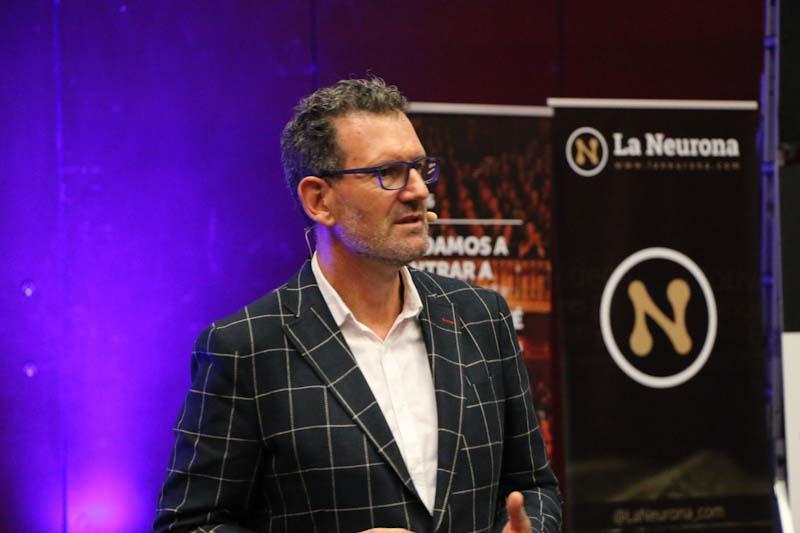 Julio de la Iglesia y la gestion del miedo en La Neurona Summits Emociones en Madrid 10
