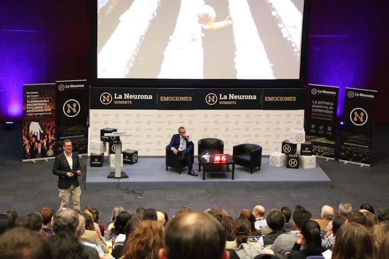 Julio de la Iglesia y la gestion del miedo en La Neurona Summits Emociones en Madrid 2