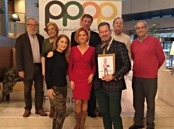 Julio de la Iglesia, TEDAX y Coach, en la Peña Periodística Primera Plana